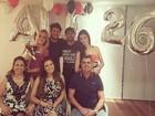 Alexandre Pato ganha surpresa de aniversário de Fiorella Mattheis
