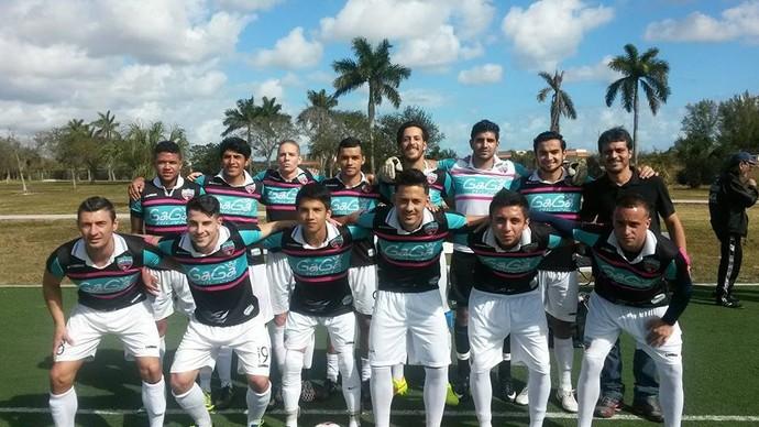 Sergio Manoel Miami United Adriano (Foto: Reprodução/Facebook)