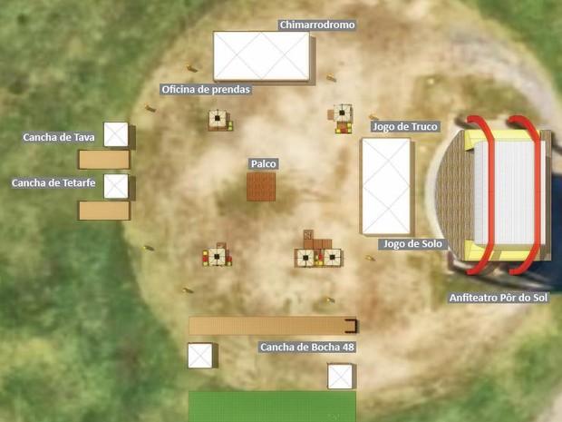 Jogos Farroupilhas (Foto: Reprodução)
