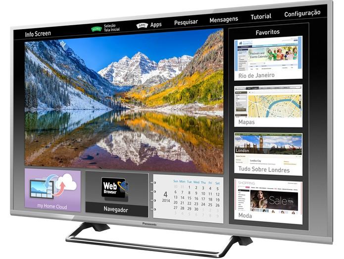 Smart TV 49CS630 da Panasonic com qualidade em Full HD (Foto: Divulgação/Panasonic) (Foto: Smart TV 49CS630 da Panasonic com qualidade em Full HD (Foto: Divulgação/Panasonic))