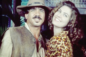 Damião (Jackson Antunes) e Eliana (Patrícia Pillar) (Foto: CEDOC/ TV Globo)