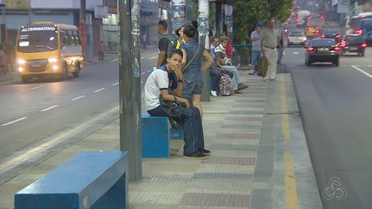 Transporte coletivo opera com 100% da frota de ônibus, em Manaus