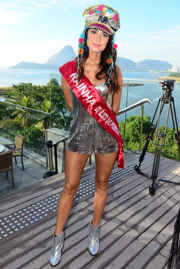 Thaila Ayala, no Bloco das Poderosas (Foto: AgNews)