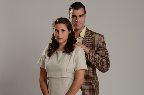 Yasmin Gomlevsky e Joaquim Lopes (Foto: Páprica Fotografia)