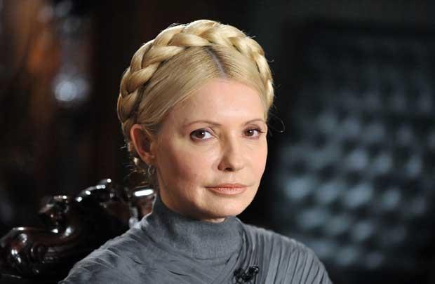 A ex-premiê ucraniana Yulia Timoshenko em 2 de fevereiro de 2011 (Foto: Reuters)
