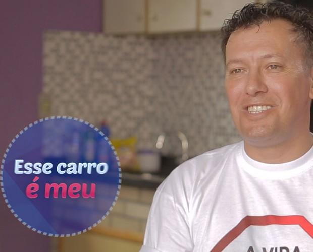 Mauro acreditou na sorte e saiu de carro zero (Foto: Divulgação)