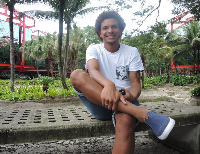 Willian Arão Botafogo entrevista (Foto: Gustavo Rotstein)