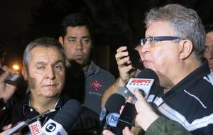 Rômulo Teixeira e Clóvis Munhoz (Foto: Edgard Maciel)
