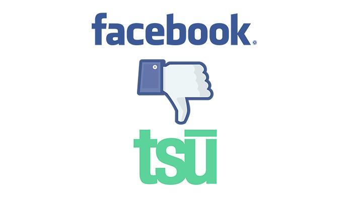 Facebook bloqueia todo conteúdo do Tsu (Foto: Reprodução/André Sugai)