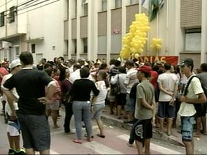 Greve dos servidores municipais chegou ao fim nesta terça-feira (23), em Colatina, noroeste do ES. (Foto: Reprodução/TV Gazeta)