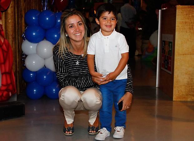 Rafaela Massa e Felipinho (Foto: Ag news)