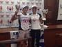 Poliana Okimoto e Ana Marcela miram medalha histórica nas Olimpíadas