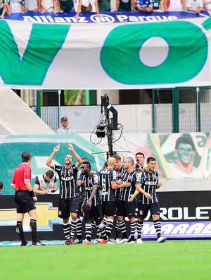 Palmeiras x Corinthians Gol Danilo (Foto: Marcos Ribolli)