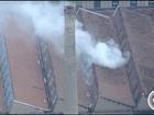 Incêndio atinge prédio da antiga Tecelagem Parahyba em S. José, SP