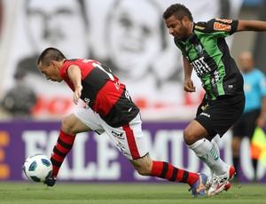 felipe atlético-GO américa-MG (Foto: Adalberto Marques / Agência Estado)