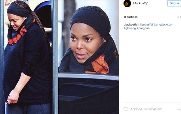 Janet Jackson (Foto: Reprodução/Instagram)
