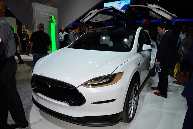 Tesla Model X na CES 2015 (Foto: Newspress)