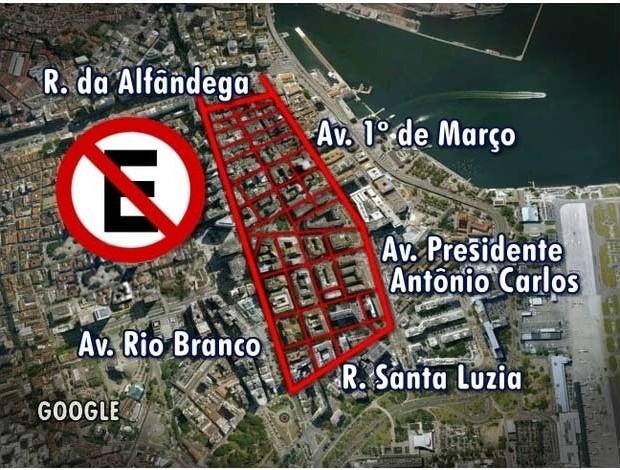 Mapa interdições (Foto: Editoria de Arte)