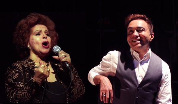 Angela Maria é a convidada de Markinhos no show que ele estreia dia 4 em São Paulo (Foto: Divulgação)