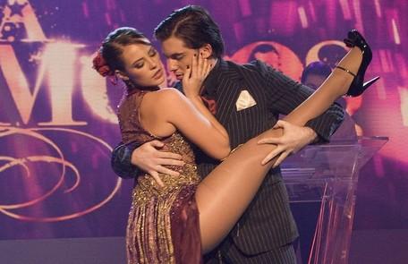 """Em 2009, Paolla Oliveira foi campeã da """"Dança dos famosos"""", quadro do """"Domingão do Faustão"""" Bob Paulino/ TV Globo"""