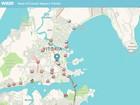 Veja como está o trânsito em Vitória (Reprodução/ G1)