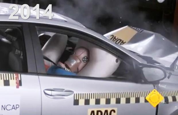 Teste de colisão (Foto: Divulgação/Latin N Cap)