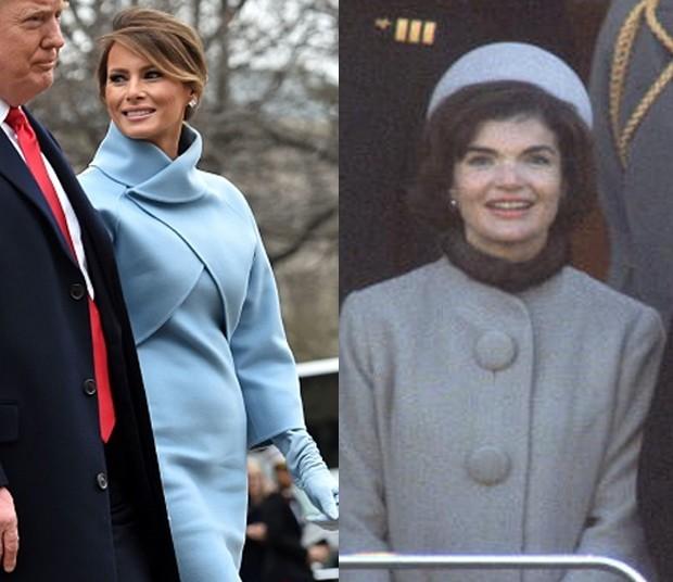 Melania Trump x Jackie O (Foto: Getty Images)