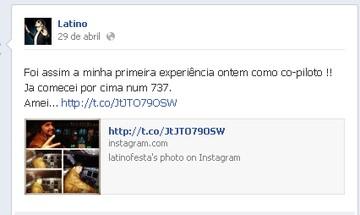 Latino (Foto: Facebook)