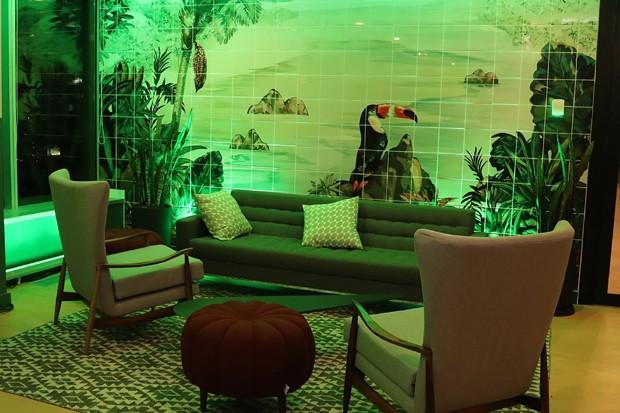 Detalhe do novo escritório da Wework no Rio de Janeiro (Foto: Udo Kurt)