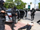 Em Manaus, exercício de segurança para Olimpíada simula atentado