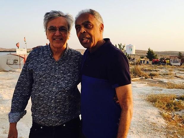 Caetano e Gil - viagem 2 (Foto: Reproduo/Instagram)