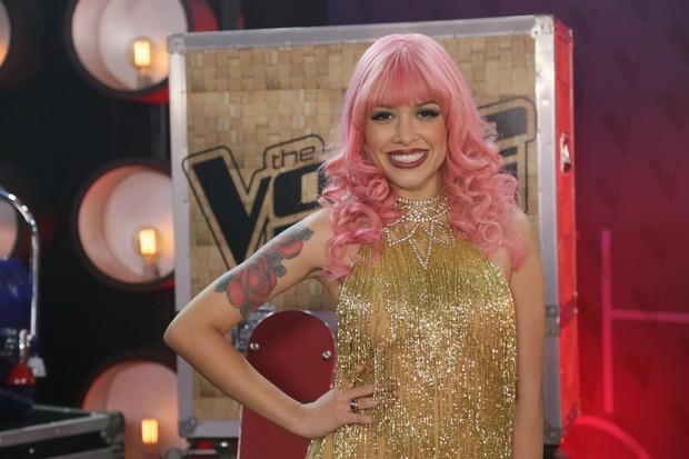 Nikki participou da quarta edição do The Voice Brasil (Foto: Globo/Paulo Belote)
