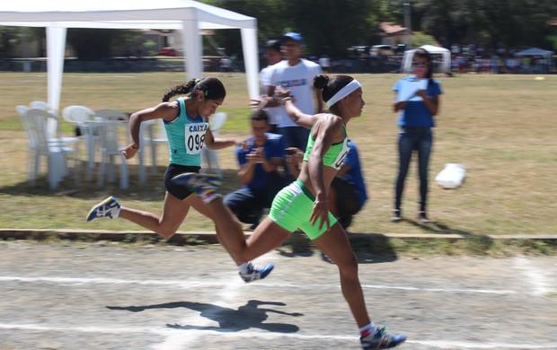 Seletiva Piauí atletismo jogos escolares (Foto: Emanuele Madeira/GLOBOESPORTE.COM)