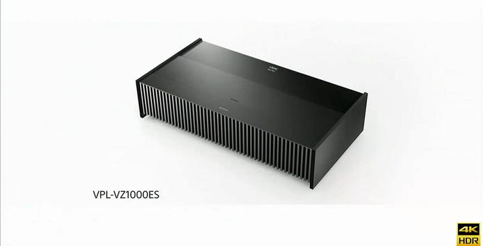 Novo projetor ultra compacto da Sony (Foto: Divulgação/Sony)