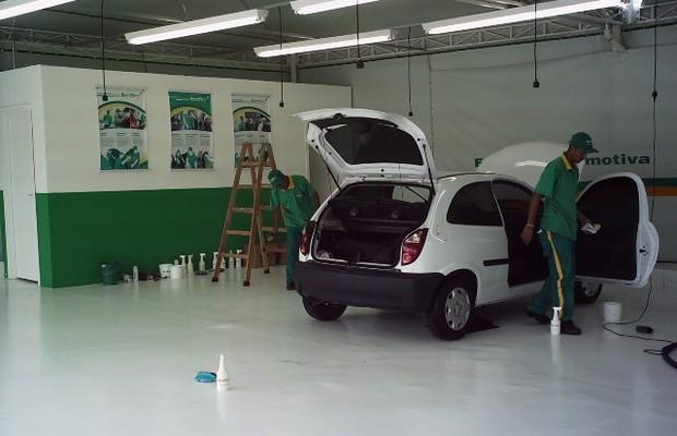 Unidade da rede Bestdry Estética Automotiva (Foto: Divulgação)