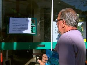 Aposentado foi pego de surpresa pela mudança de horário do SIM (Foto: Paulo Chiari/EPTV)