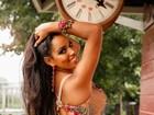 Katiely Kathissumi vai usar tapa-sexo no Sambódromo: 'Meu melhor corpo'