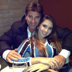 Renato Gaúcho e Carolina Portaluppi (Foto: Instagram/ Reprodução)