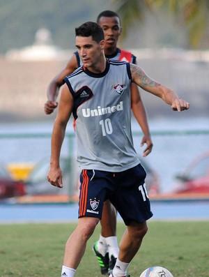 Thiago Neves Fluminense treino (Foto: Rossana Fraga / Photocâmera)