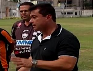 Técnico China Araxá Esporte Clube  (Foto: Reprodução/TV Integração)