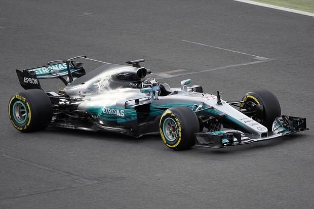 Mercedes F1 W08 (Foto: Divulgação)