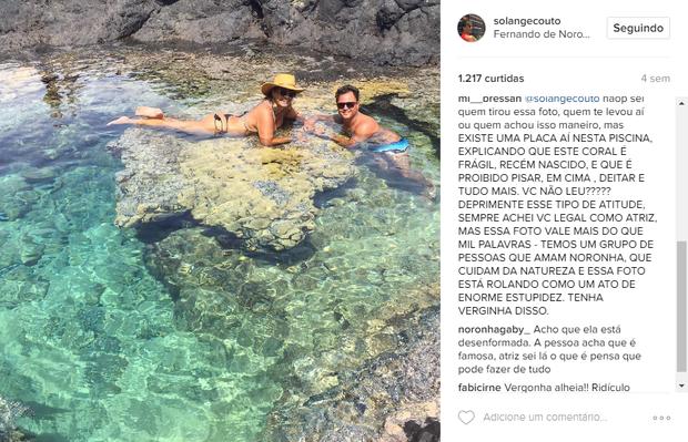 Solange Couto (Foto: Reprodução/Instagram)