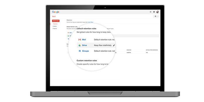 Vault para Drive ajuda a controlar documentos e dados confidenciais (Foto: Divulgação/Google)