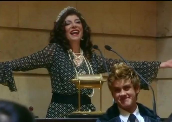A atriz arrasou como Maria Lúcia em Cobras e Lagartos (Foto: TV Globo)