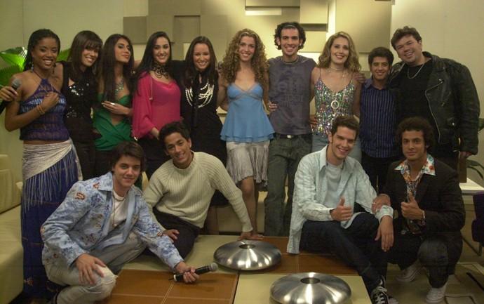 Participantes Fama 3 (Foto: Globo/ Renato Rocha Miranda)