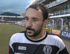 Leonardo Luiz zagueiro XV de Piracicaba (Foto: Carlos Velardi / EPTV)
