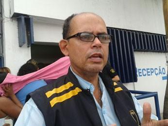 João Carvalho, do Sindasp-PE, informou que acordo com o governo não foi cumprido (Foto: Luna Markman/G1)