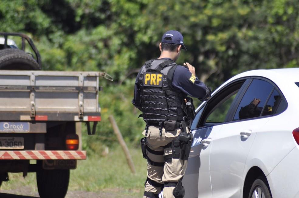 PRF reforça fiscalização nas rodovias federais (Foto: PRF/Divulgação)