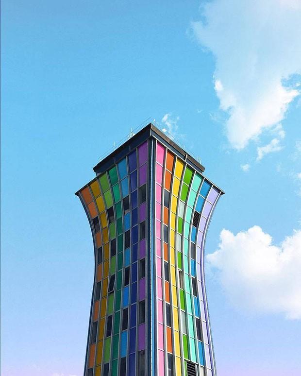Conheça os edifícios multicoloridos de Ramzy Masri (Foto: Divulgação)