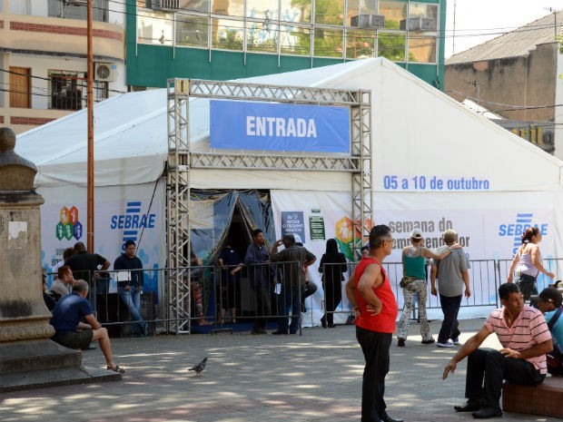 Durante a Semana do Empreendedor, 280 sorocabanos foram atendidos  (Foto: Zaqueu Proença)